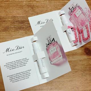 ディオール(Dior)のミスディオール オードトワレ サンプル 2点セット(サンプル/トライアルキット)
