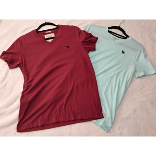 アバクロンビーアンドフィッチ(Abercrombie&Fitch)のアバクロ/A&F Tシャツ 2枚セット(Tシャツ/カットソー(半袖/袖なし))