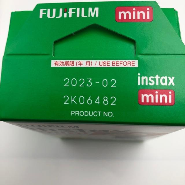 富士フイルム(フジフイルム)のFUJIFILM チェキ用フィルム 20枚入   スマホ/家電/カメラのカメラ(フィルムカメラ)の商品写真
