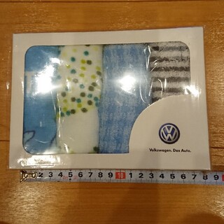 フォルクスワーゲン(Volkswagen)のvolkswagen.DasAutoオリジナルハンドタオル4枚組(ノベルティグッズ)