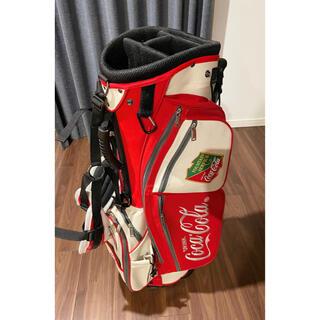コカコーラ(コカ・コーラ)のコカコーラ キャディバッグ Coca cola caddy bag(バッグ)