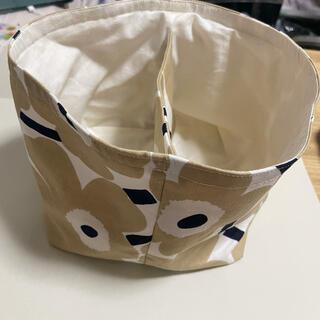マリメッコ(marimekko)の(限定1点のみ)marimekko 布バスケット(インテリア雑貨)