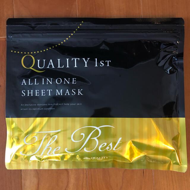 QUALITY FIRST(クオリティファースト)のQuality 1st  The best クオリティファースト ベスト20枚入 コスメ/美容のスキンケア/基礎化粧品(パック/フェイスマスク)の商品写真
