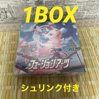 ポケモン(ポケモン)のフュージョンアーツ BOX 1箱 新品未開封 シュリンク付き(Box/デッキ/パック)