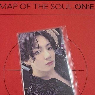 BTS MAP OF THE SOUL ON:E グク トレカのみ