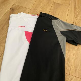 プーマ(PUMA)のスポーツTシャツ 2枚セット(Tシャツ(半袖/袖なし))