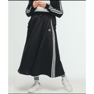 adidas - adidas originals サテン ロングスカート