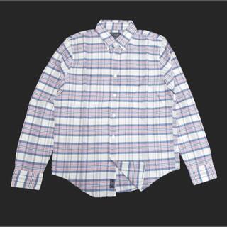 Abercrombie&Fitch - ★新品★アバクロンビー&フィッチ★マドラスチェック長袖シャツ (Grey/L)