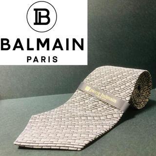 Pierre Balmain - 【新品】 PIERRE BALMAIN/ピエールバルマン ネクタイ アイボリー