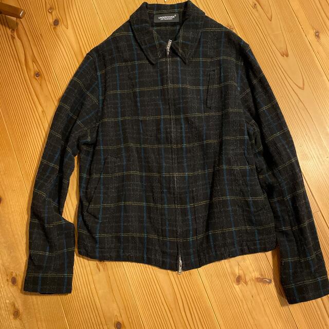 UNDERCOVER(アンダーカバー)のアンダーカバー 縮絨ブルゾン メンズのジャケット/アウター(ブルゾン)の商品写真