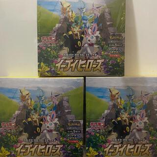 ポケモン(ポケモン)のシュリンク付き イーブイヒーローズ 3BOX 新品未開封(Box/デッキ/パック)
