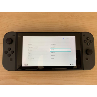 Nintendo Switch - 中古美品 Nintendo Switch 本体 グレー
