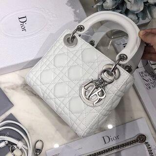 クリスチャンディオール(Christian Dior)のLADY DIOR ミニバッグ(ショルダーバッグ)