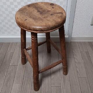 木製丸イス スツール