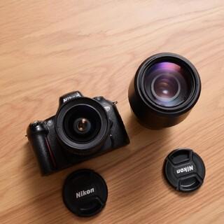 ニコン(Nikon)のフィルム電池付 Nikon U2 フィルムカメラ ダブルズームキット レンズ二本(フィルムカメラ)