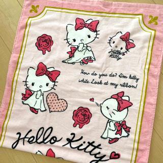 サンリオ(サンリオ)の新品★ Hello Kitty ハローキティ バスタオル 普通判 プリンセス(タオル/バス用品)