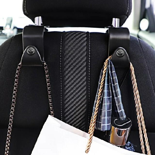 トヨタ ヘッドレストフック 車載フック マスクかけ 鍵かけ 自動車/バイクの自動車(車内アクセサリ)の商品写真