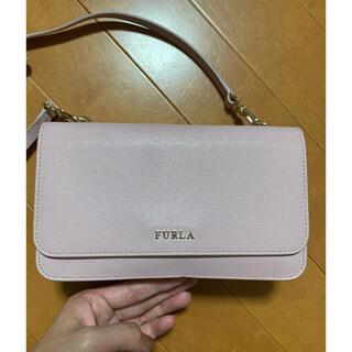 Furla - フルラ お財布ショルダー ピンク