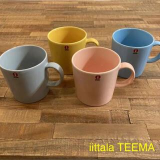 イッタラ(iittala)のiittala イッタラ teema ティーマ マグカップ 4個セット (グラス/カップ)