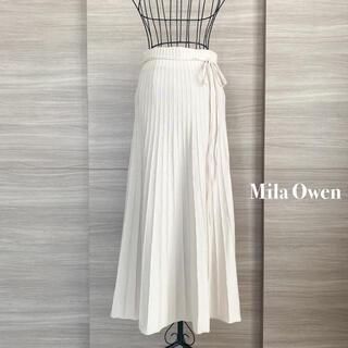 Mila Owen - Mila Owen ミラオーウェン オーガニックフレアリブスカート