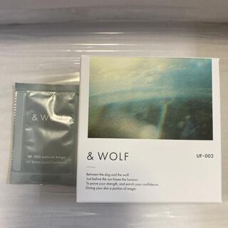 & WOLF セラムリキッドファンデーション light beige