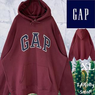 ギャップ(GAP)のGAP ブランドロゴパーカー エンジ XL(パーカー)