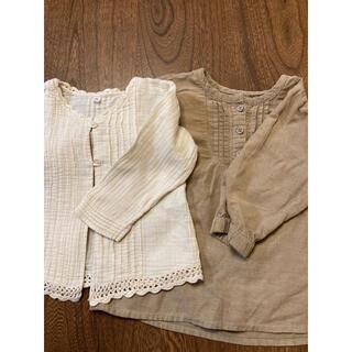 ムジルシリョウヒン(MUJI (無印良品))の無印良品 トップス 90センチ(Tシャツ/カットソー)