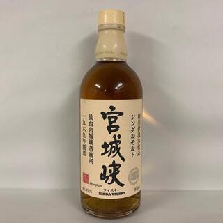 ニッカウイスキー(ニッカウヰスキー)の8本ニッカ 仙台宮城峡蒸溜所シングルモルト ウイスキー 国産 500ml 43%(ウイスキー)