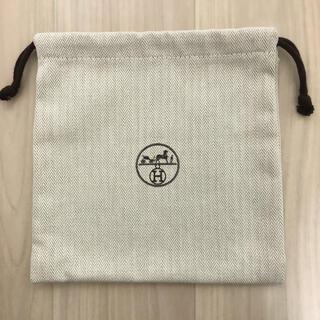 Hermes - HERMES エルメス 保存袋 巾着袋 布袋 ポーチ