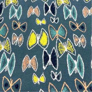 ミナペルホネン(mina perhonen)のミナペルホネン skyflower ブルー(生地/糸)