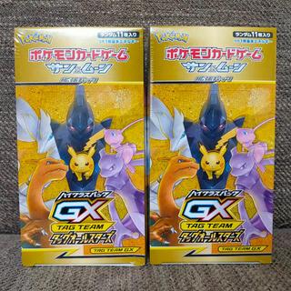 ポケモン(ポケモン)の新品・未開封 タッグオールスターズ 2BOX(Box/デッキ/パック)