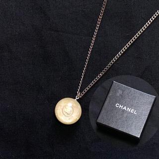 CHANEL - 美品・正規品 シャネル ココマーク ネックレス 丸型 シルバー 箱付き 入手困難