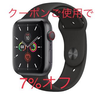 Apple Watch - 新品交換可能apple watch  Series5 Cellular 44mm