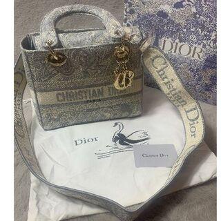 クリスチャンディオール(Christian Dior)のDior ディオール レディディオール ハンドバッグ(ショルダーバッグ)