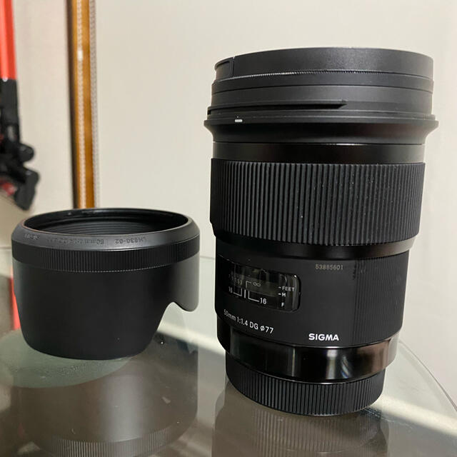 SIGMA(シグマ)のsigma 50mm f1.4 dg hsm  スマホ/家電/カメラのカメラ(レンズ(単焦点))の商品写真