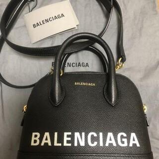 バレンシアガ(Balenciaga)のバレンシアガ ビルトップ ハンドル XXS ハンドバッグ 525050 ブラック(ハンドバッグ)