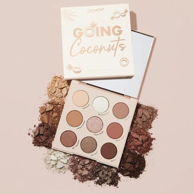 MAC(マック)のGoing Coconuts カラーポップ アイシャドウパレット コスメ/美容のベースメイク/化粧品(アイシャドウ)の商品写真