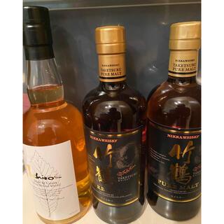 ニッカウイスキー(ニッカウヰスキー)の竹鶴 イチローズモルト 3本セット(ウイスキー)