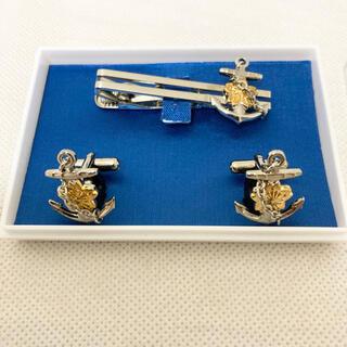 ネクタイピン カフスボタン セット 舞鶴海上自衛隊 限定品