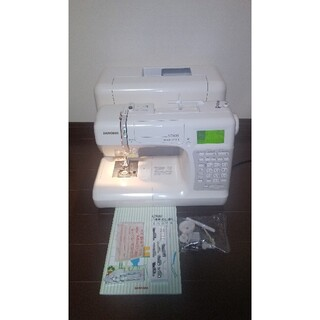 S7800 ジャノメ JANOME コンピューター ミシン 本体 文字 漢字縫い