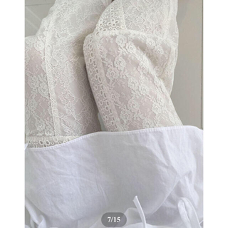 ロキエ(Lochie)のAcka original lace pants(カジュアルパンツ)