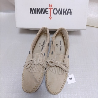 Minnetonka - Ⅰ スライで購入 未使用タグ付き ミネトンカ シューズ