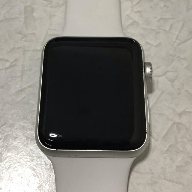 Apple Watch(アップルウォッチ)のApple Watch series 3 42mm GPSモデル メンズの時計(腕時計(デジタル))の商品写真