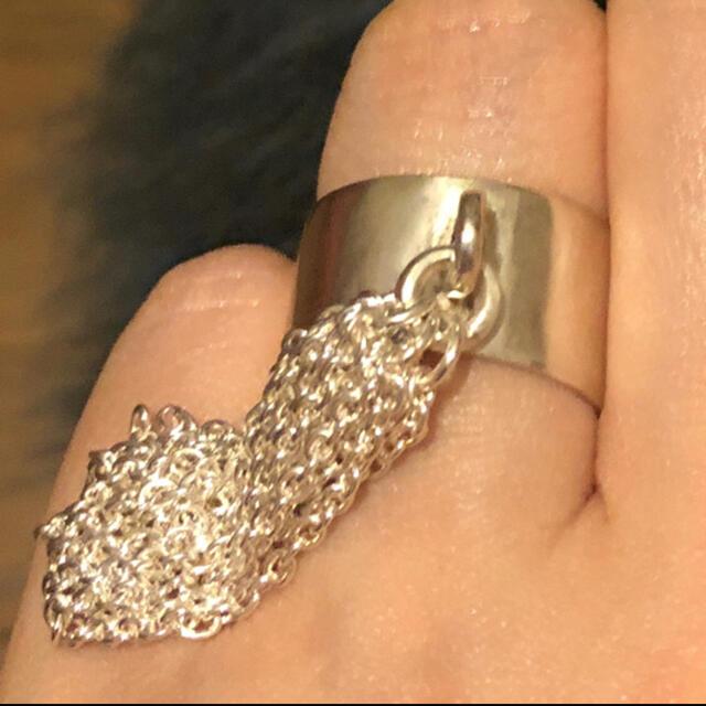 TODAYFUL(トゥデイフル)のシルバーリング チェーン レディースのアクセサリー(リング(指輪))の商品写真