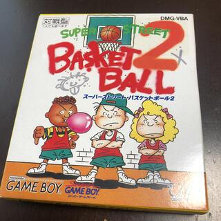 ゲームボーイ(ゲームボーイ)のスーパーストリート バスケットボール2(携帯用ゲームソフト)