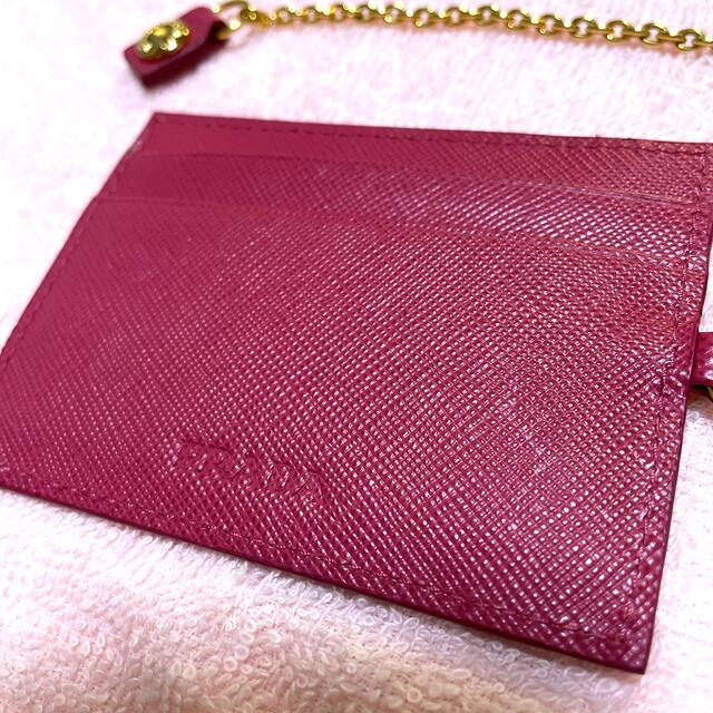 PRADA(プラダ)の【未使用】プラダ パスケース レディースのファッション小物(パスケース/IDカードホルダー)の商品写真