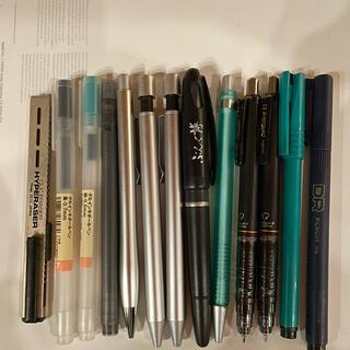 ムジルシリョウヒン(MUJI (無印良品))の無印良品ペン シャーペン13本(オフィス用品一般)