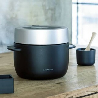 BALMUDA - バルミューダ BALMUDA 炊飯器 黒 ブラック