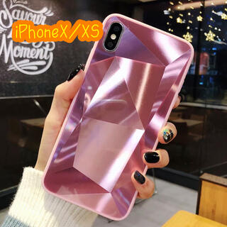 アイフォーン(iPhone)のiPhoneX iPhoneXS ミラー加工 iPhoneケース(iPhoneケース)