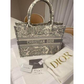 Christian Dior - ディオールブックトート Dior トワル ドゥジュイ ブルーグレー スモール